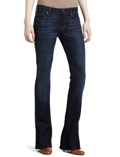 7 For All Mankind Women's Kaylie Slim Fit Jean, Midnight New York Dark, 28