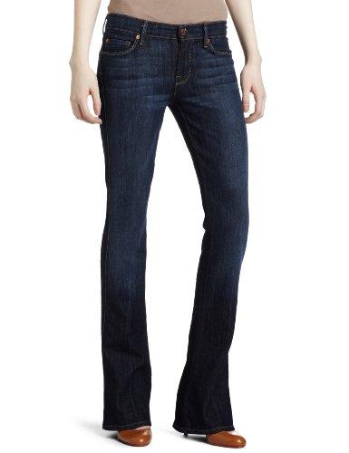 7 For All Mankind Women's Kaylie Slim Fit Jean, Midnight New York Dark, 28