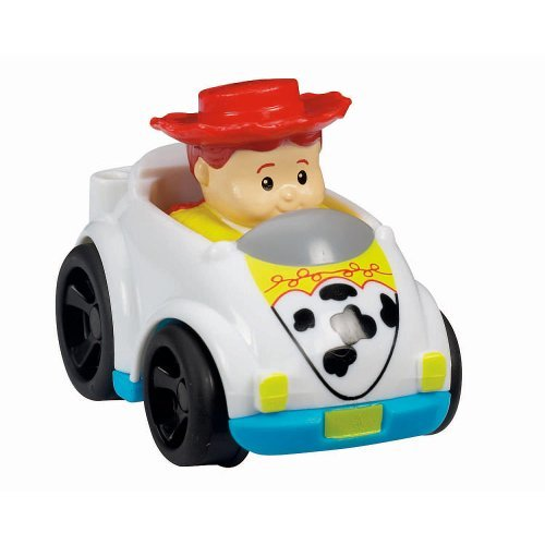 Fisher-Price Disney Little People Wheelies Vehicle - Jessie - 1