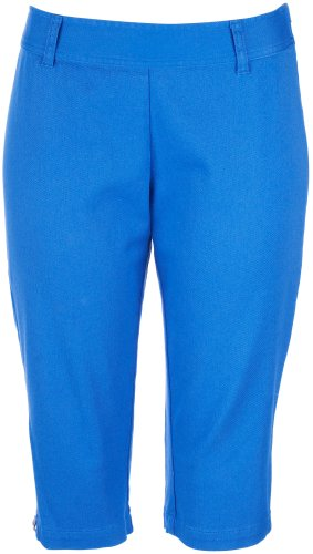 41TqeX7xXgL   Skyes The Limit La Isla Bonita Solid Capris BLUE BELL 4 Discount !!