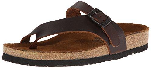 Naot Women's Tahoe Toe Ring Sandal,Buffalo Leather,42 EU/10.5-11 M US