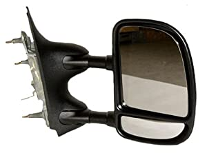 OE Replacement Ford Econoline Van Passenger Side Mirror Outside Rear View (Partslink Number FO1321238)