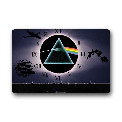 """""""Pink Floyd-Dark Side Of The Moon-Tappetino per porta, anti-scivolo, Lavabile in lavatrice, per interni ed esterni Zerbino 59,94 cm x (23,6 39,88 (15,7 cm"""