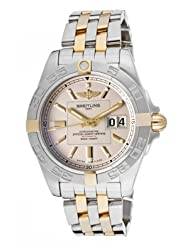 Men's Windrider Automatic/Mechanical Ivory Dial Stainless Steel & 18k Solid Gold