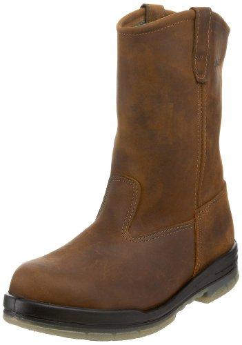 Wolverine Men'S W03258 Durashock Waterproof Steel-Toe Boot,Stone,9 M Us