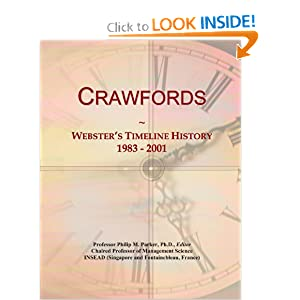 Crawfords: Webster's Timeline History, 1983 - 2001 Icon Group International