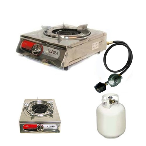 Best Camp Stoves Alpha Portable Propane One Burner Gas Stove