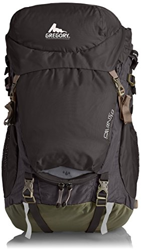 B005EM8LKK Gregory Savant 48 Backpack, Thundercloud Black, Large