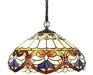 Amora Lighting AM1062HL16 Tiffany Style Ceiling Pendant ...