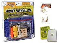 Adventure Medical Survival Pak Kit - Deluxe Light Weight Pac Survivor Kit Pack Scuba Dive Diving Diver Boat Boating Boater Camp Camping Camper Hike Hiking Hiker Hunt Hunter Hunting Author Cody Lundin