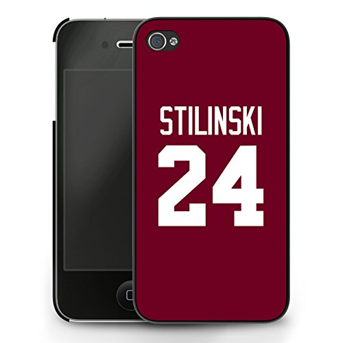 Teen Wolf Stiles Stilinski 24 Lacrosse Jersey iPhone 4/4s Case - Nero