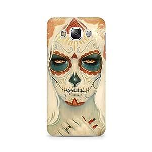Mobicture Skull Art Premium Printed Case For Samsung E5