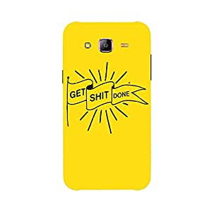 Back cover for Samsung Galaxy J5 Get Shit Done
