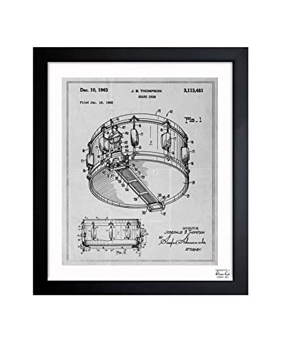 Oliver Gal Snare Drum 1962 Framed Art