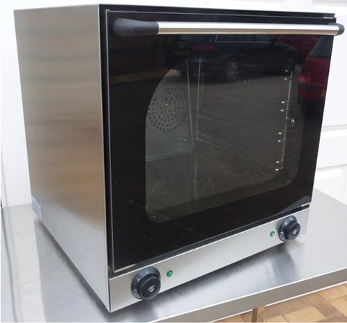 Commercial Electric Baking Convection Oven Multi Function 4 Trays 300C 13A