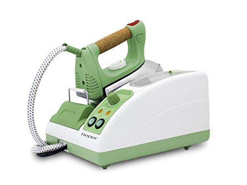 Beper 50,939-Ferro da stiro a vapore professionale, colore: verde