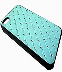 Gadget And Accessories 4u Flip Cover For APPLE I PHONE 5 5S 5G Sky Blue BC