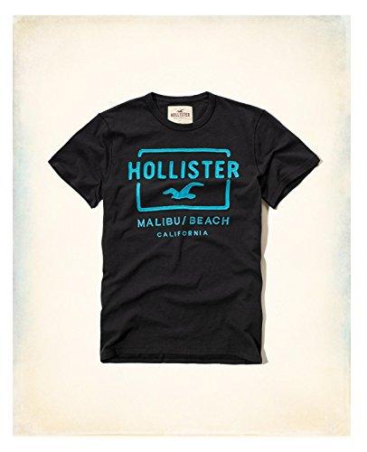 hollister-hco-mens-logo-graphic-t-shirt-tee-navy-black-l-black-11-tee