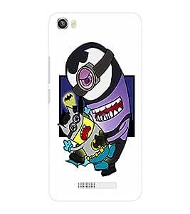 EPICCASE Minion Batman Mobile Back Case Cover For Lava Iris X8 (Designer Case)