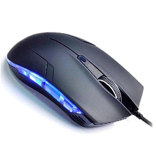 Amlaiworld Mouse con filo,Cobra 1600dpi ottico USB Wired Mouse da gioco gioco per giochi PC portatile