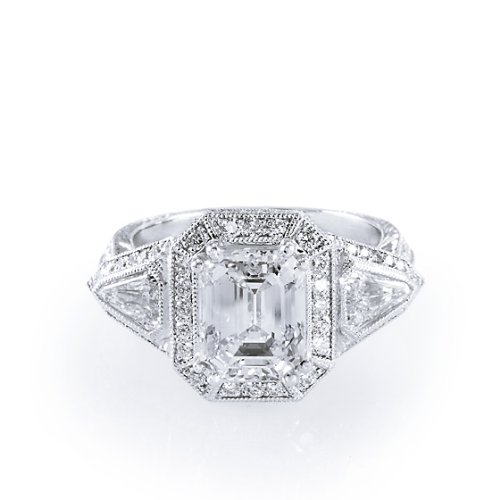 Beautiful Emerald-Cut Diamond Ring (5 3/4 ct. tw.)