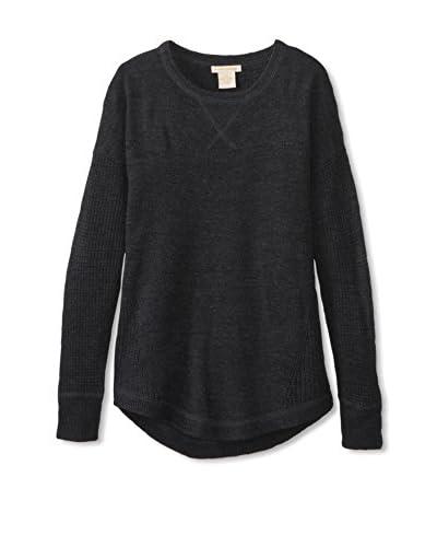 Sweet Romeo Women's Textured Sweater