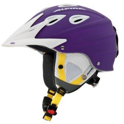 ALPINA Erwachsene Skihelm Grap Cross Violett violett 58-61 Inch