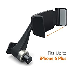 Satechi® Ventie Adjustable Air Vent Universal Smartphone Car Mount Holder Cradle for Apple iPhone 6/6S/6 Plus/6S Plus/5S/5C/5, Samsung Galaxy S6/S6 Edge/S5/S4, LG G4, Nexus 5X, HTC M9 and many more