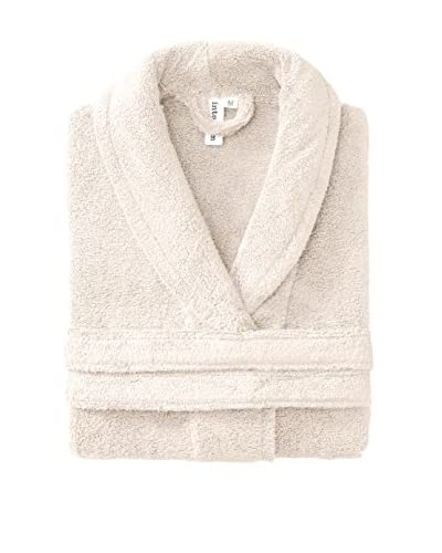 Interio by Schlossberg Bath Robe, Ivory, One Size