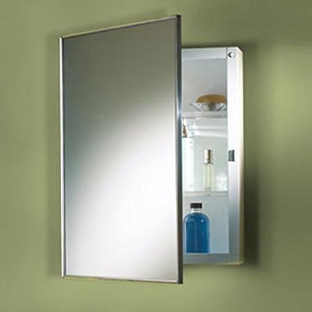 Jensen Medicine Cabinet Styleline 18W x 24H in. Surface Mount Medicine Cabinet M18249301 by Broan-NuTone