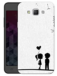 """Humor Gang Boy Girl Heart Printed Designer Mobile Back Cover For """"Samsung Galaxy A7"""" (3D, Matte, Premium Quality Snap On Case)"""