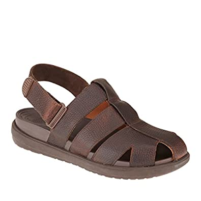 FitFlop Mens Sandals FFisher Chocolate UK12 Chocolate