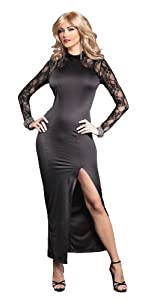 Stunning Lace Accent Gown for Crossdressing, Drag Queen by Suddenly Fem