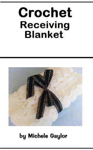Crochet Receiving Blanket Pattern front-105076