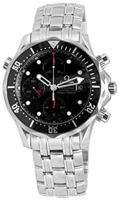 Omega Men's 213.30.42.40.01.001 Seamaster 300M Chrono Diver Black Dial Watch