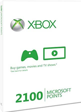 Xbox LIVE 2100 Microsoft Points (Xbox 360)