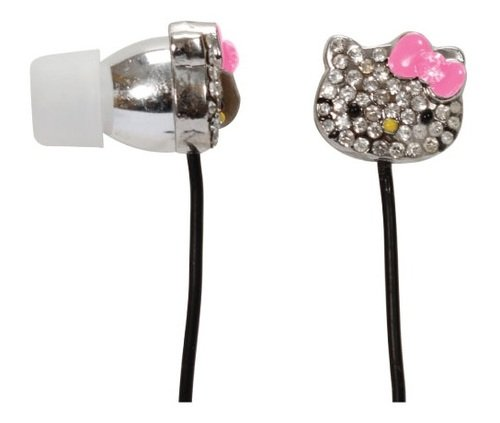 Hello Kitty Bling Earbuds - Silver (HKBL1000) Review