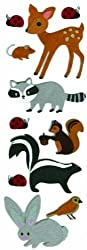 Martha Stewart Crafts Stickers, Felt Animals