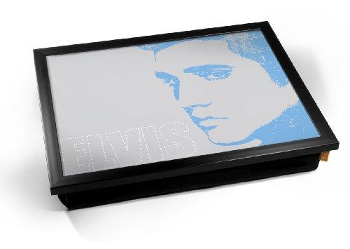 Elvis Presley Blue Face Cushion