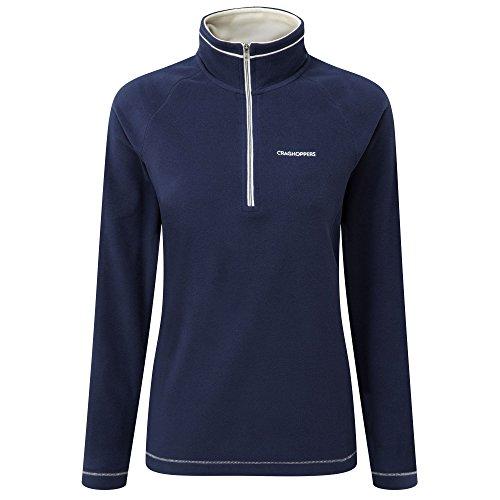 craghoppers-womens-seline-half-zip-microfleece-pullover-top-night-blue-size-14