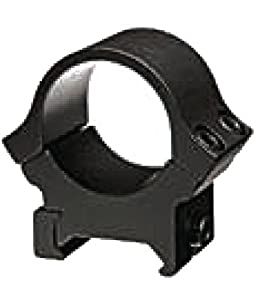 B-Square 1-Inch Sport Utility Rings, 0.22 Dovetail-Medium Rise, Matte Black Finish