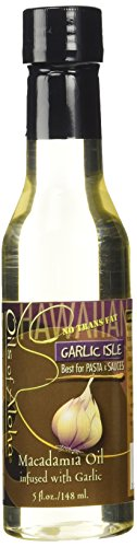 Garlic Isle Hawaiian Macadamia Nut Oil From Oils of Aloha