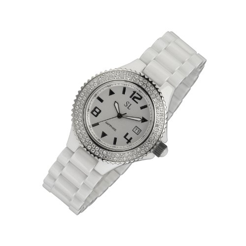 New Fashion Men's&white Ceramic Watch