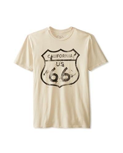 Chaser Men's Route 66 Crew Neck T-Shirt