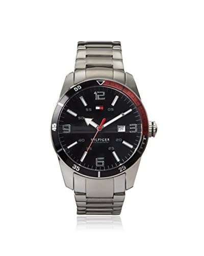 Tommy Hilfiger Men's 1790916 Silver/Black Stainless Steel Watch