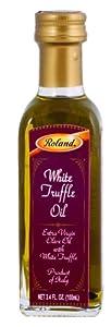 Roland White Truffle Oil, 3.4-Ounce Bottles (Pack of 2)
