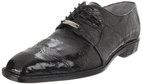 Belvedere Men's Moscato Wingtip,Black,11.5 M US
