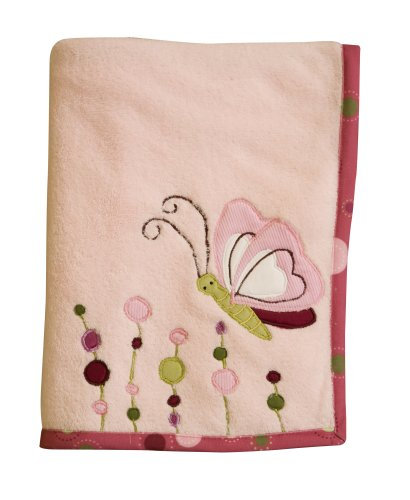 Lambs & Ivy Raspberry Swirl Blanket (Discontinued by Manufacturer)
