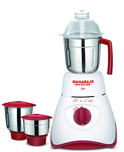 Maharaja Whiteline Joy 550W mixer grinder