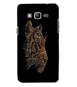 SAMSUNG GALAXY GRAND PRIME TIGER Back Cover by PRINTSWAG